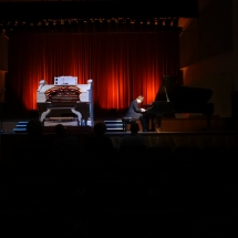 Wurlitzer and Piano